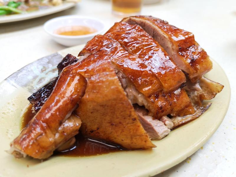 fuchi10 HK-富記粥品  真的是銷魂的好吃啊 燒鵝也好吃