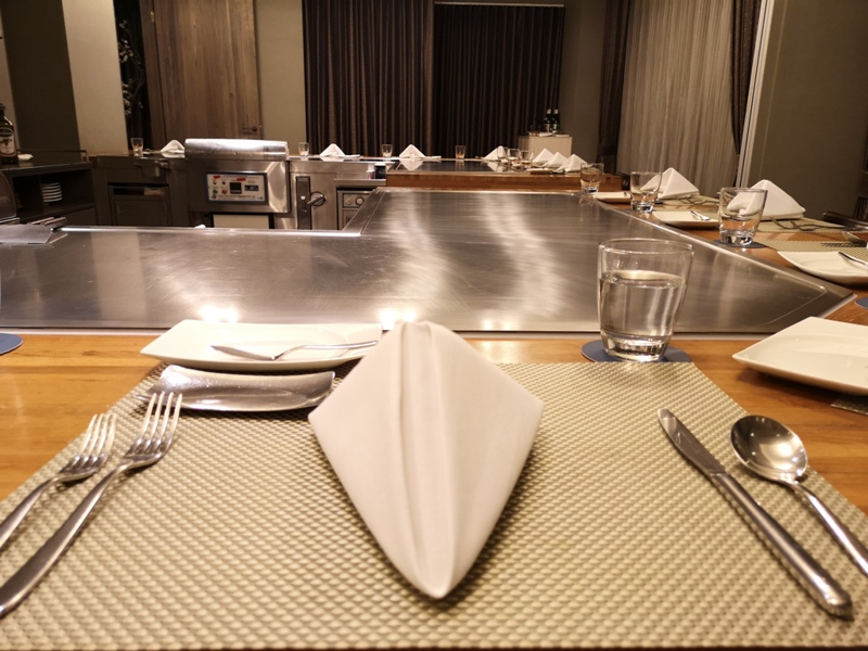 teppenyaki02 竹北-喜來登內的邀月亭鐵板燒 輕鬆舒適又好吃