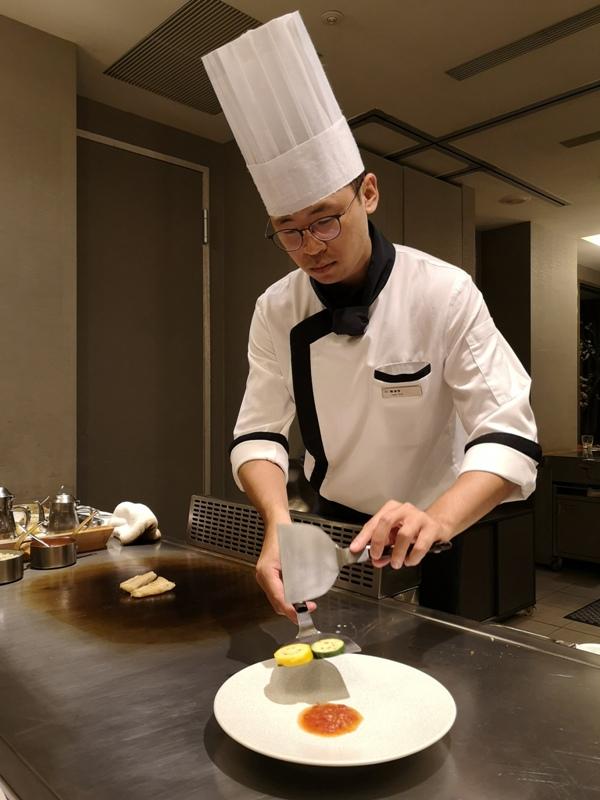 teppenyaki10 竹北-喜來登內的邀月亭鐵板燒 輕鬆舒適又好吃