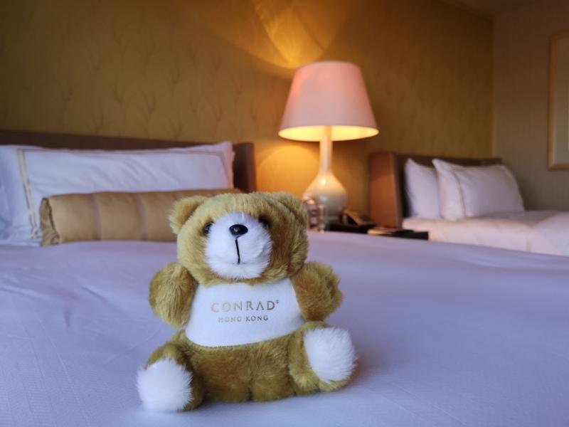 conradhk16 HK-香港Conrad 太古廣場五星級港麗酒店 可愛小熊小鴨作陪