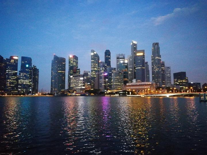 marinabay02 Singapore-Marina Bay晨景 感受新加坡最美的濱海灣