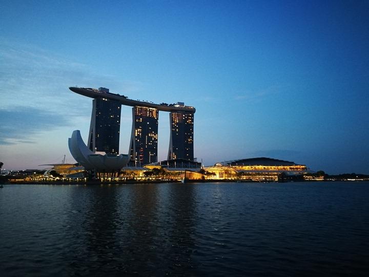 marinabay05 Singapore-Marina Bay晨景 感受新加坡最美的濱海灣