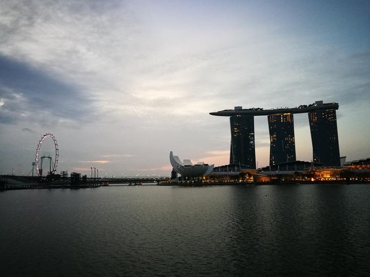 marinabay08 Singapore-Marina Bay晨景 感受新加坡最美的濱海灣
