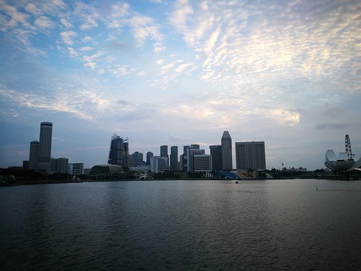 marinabay20 Singapore-Marina Bay晨景 感受新加坡最美的濱海灣