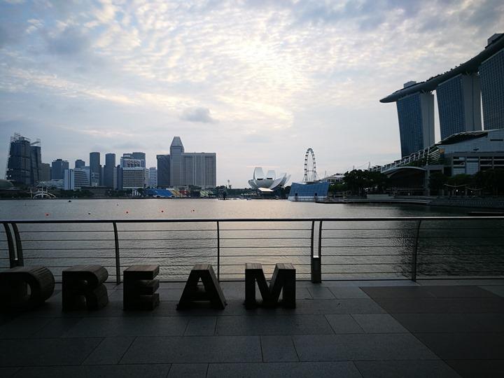 marinabay24 Singapore-Marina Bay晨景 感受新加坡最美的濱海灣