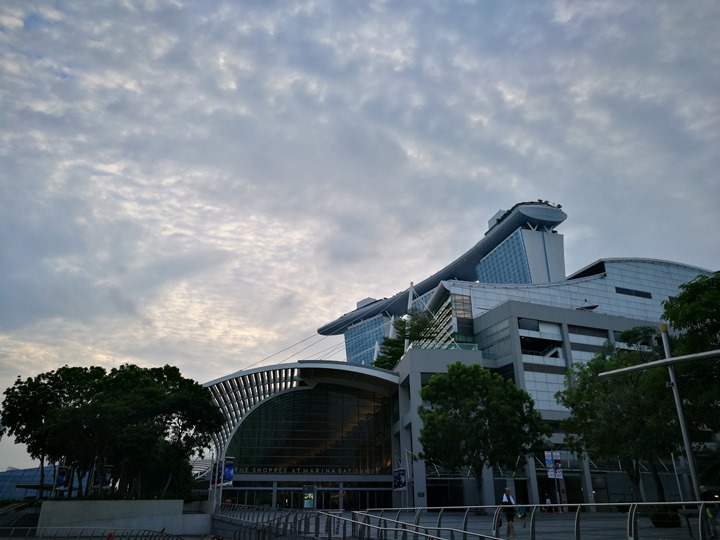 marinabay25 Singapore-Marina Bay晨景 感受新加坡最美的濱海灣