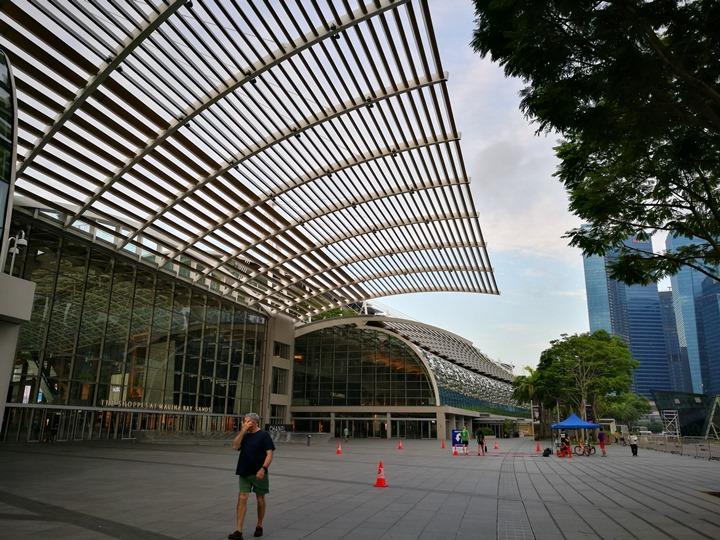 marinabay28 Singapore-Marina Bay晨景 感受新加坡最美的濱海灣