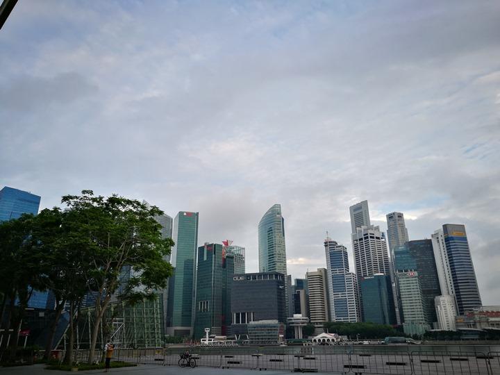 marinabay30 Singapore-Marina Bay晨景 感受新加坡最美的濱海灣