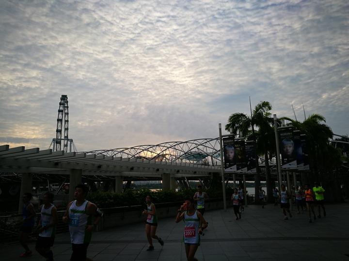marinabay45 Singapore-Marina Bay晨景 感受新加坡最美的濱海灣