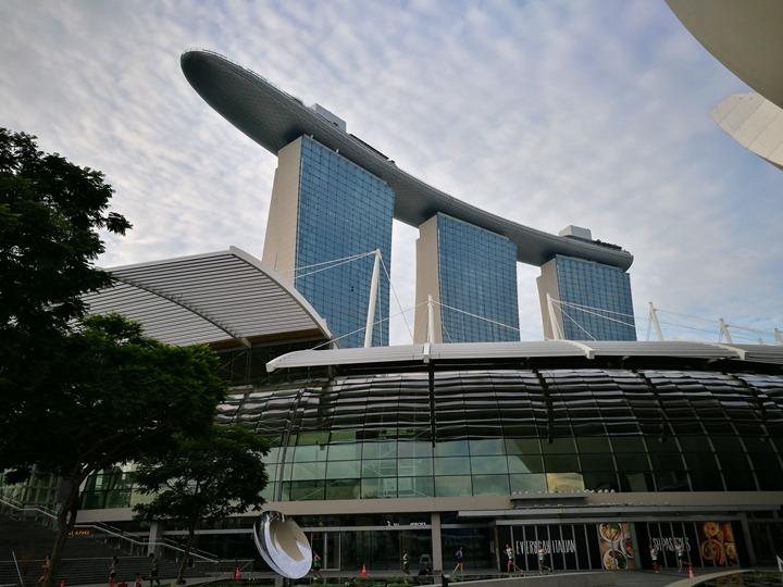 marinabay46 Singapore-Marina Bay晨景 感受新加坡最美的濱海灣