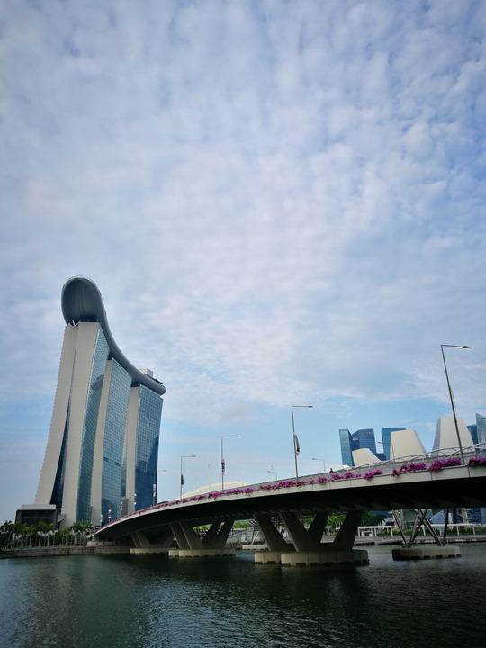 marinabay58 Singapore-Marina Bay晨景 感受新加坡最美的濱海灣