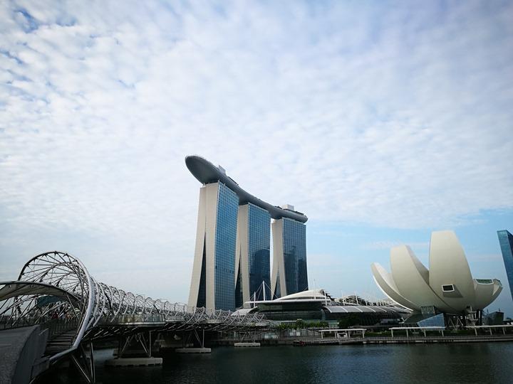 marinabay62 Singapore-Marina Bay晨景 感受新加坡最美的濱海灣