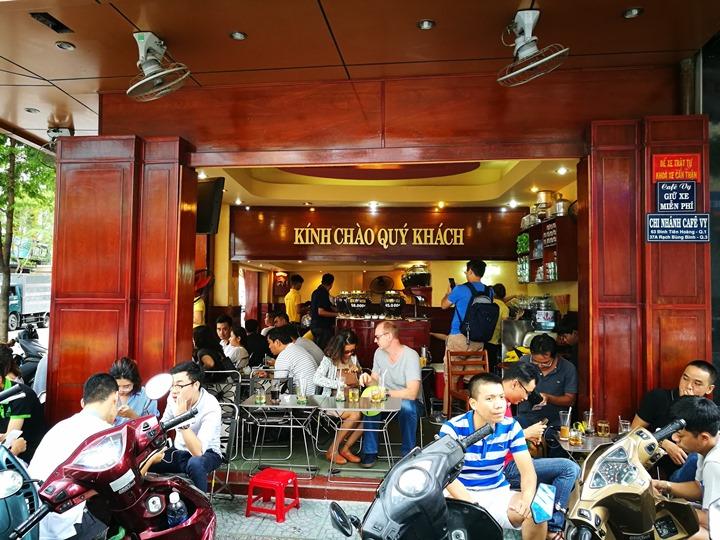 caphevy02 HoChiMinh-Cafe Vy胡志明人愛咖啡 坐小板凳也要喝