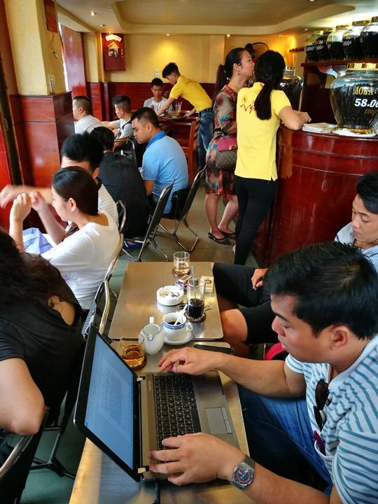 caphevy07 HoChiMinh-Cafe Vy胡志明人愛咖啡 坐小板凳也要喝