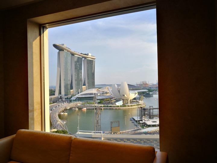 ritzcarltonsigapore001137 Singapore-Ritz Carlton心滿意足的五星級飯店 新加坡最常住的飯店之一