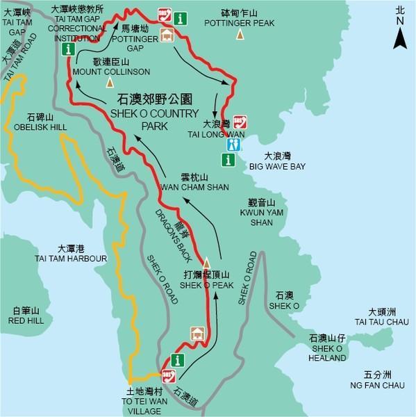 5443613323 HK-亞洲最美市區行山徑-龍脊(港島徑第8段)