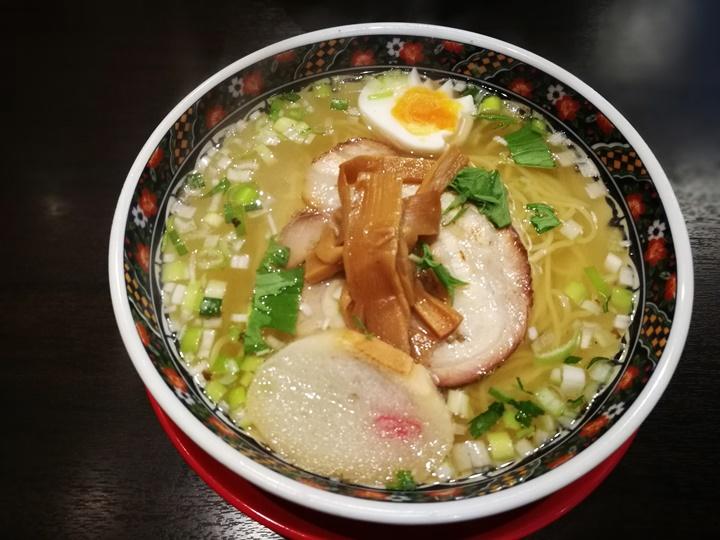 ajisailamen4 Hakodate-函館 麺厨房あじさい味彩 鹽味拉麵清爽不油膩