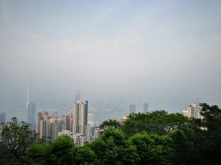 thepeak04 HK-擁擠的太平山The Peak 太平山夜景香港城市的擁擠