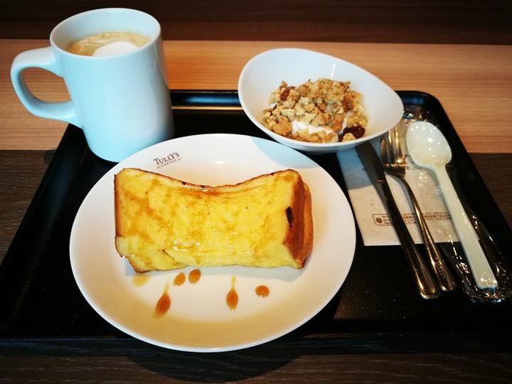 tullys6 Hakodate-Tully's Coffee函館車站內早餐套餐真不賴