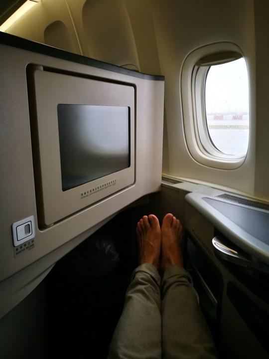 flyjfk45 201709台北紐約EVA皇璽桂冠艙初體驗 舒適溫馨有家的感覺...