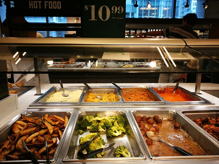 wholefoods04 New York-紐約好好玩之Whole Foods Market有機超市吃熱食...感受當地人生活