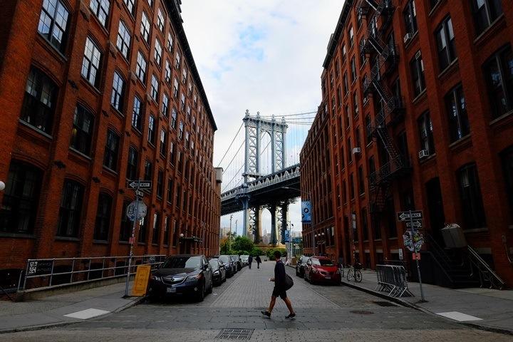 dumboo01 New York-果真大蘋果之紐約真好玩 布魯克林橋下 網紅聖地Dumbo&渡船碼頭賞曼哈頓夜景