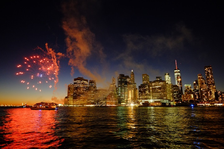 dumboview04 New York-果真大蘋果之紐約真好玩 布魯克林橋下 網紅聖地Dumbo&渡船碼頭賞曼哈頓夜景