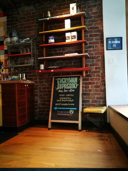 everyman08 New York-果真大蘋果之紐約真好玩 Everyman Expresso好好喝的冰咖啡