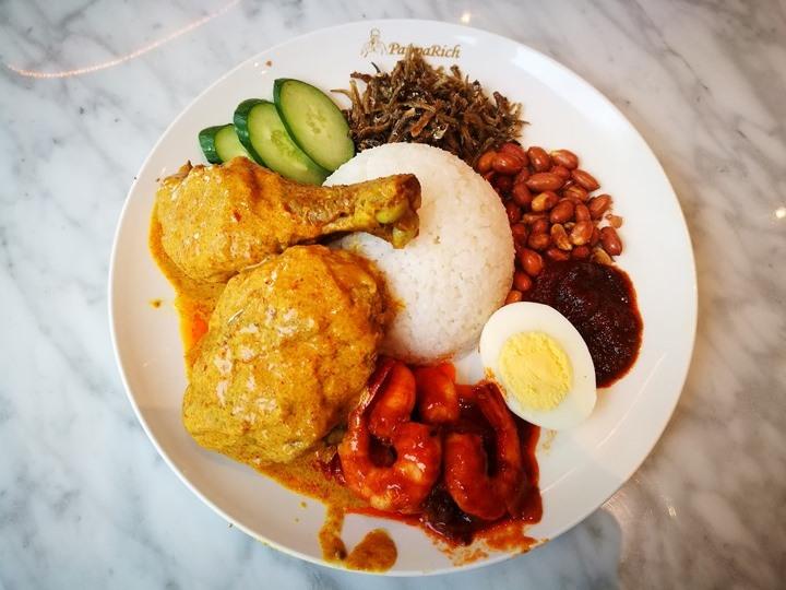 paparich07 南港-金爸爸 馬來西亞特色食物好下飯