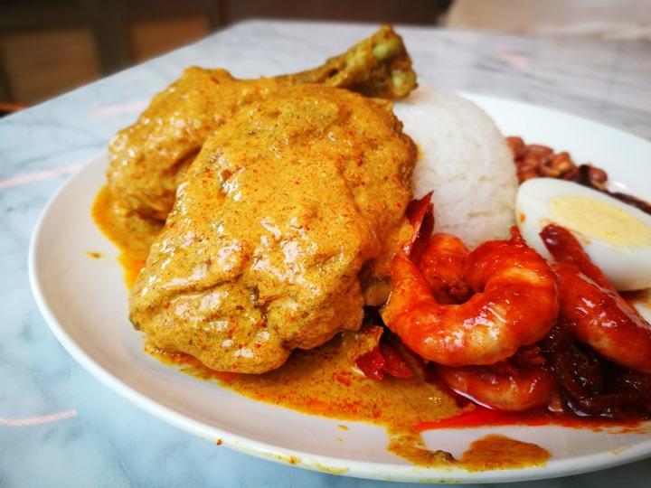 paparich08 南港-金爸爸 馬來西亞特色食物好下飯