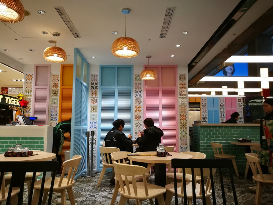 328laksa2 中正-328加東叻沙台灣店(台北車站微風廣場) 感覺走味壞了本店名聲的叻沙