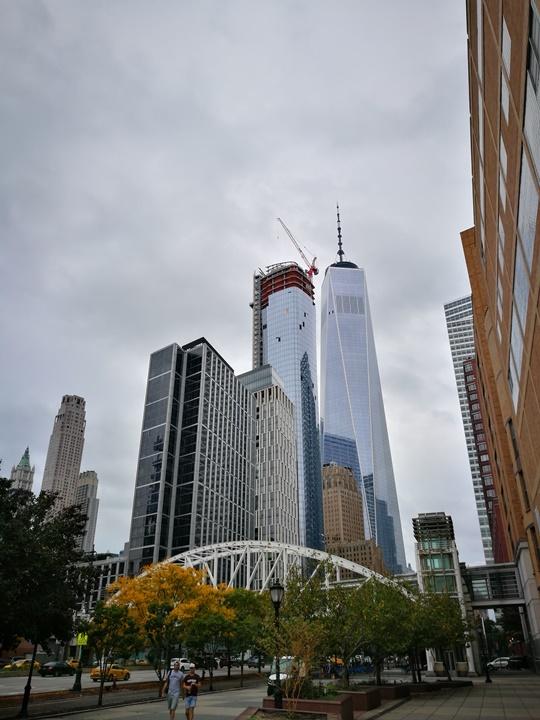 WTC460214 New York-果真大蘋果之紐約真好玩 重生的世貿中心1 WTC 超美的Oculus車站