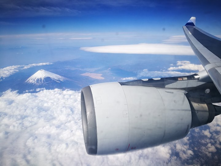 flyngo13 201803桃園名古屋羽田松山 有富士山作伴的旅程