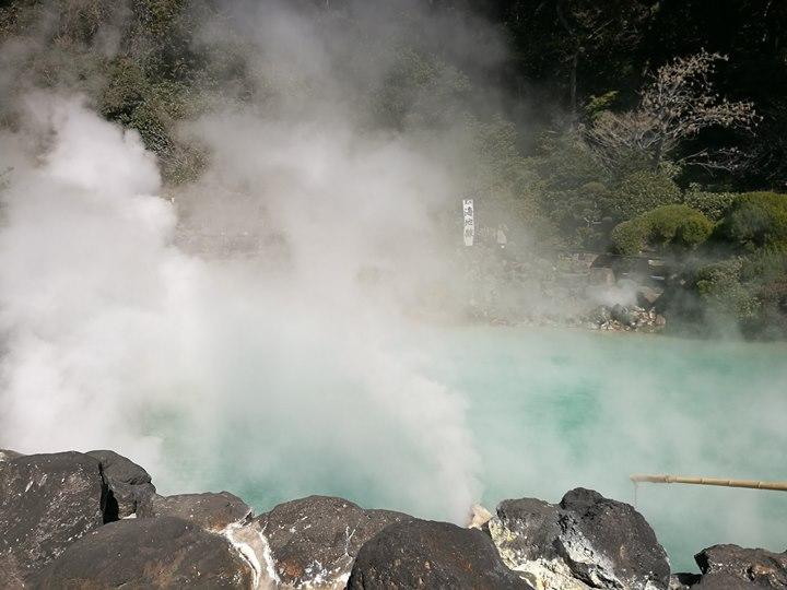 Beppu04-1 Beppu-別府地獄之旅 海地獄&血の池地獄 這明明就地熱谷...