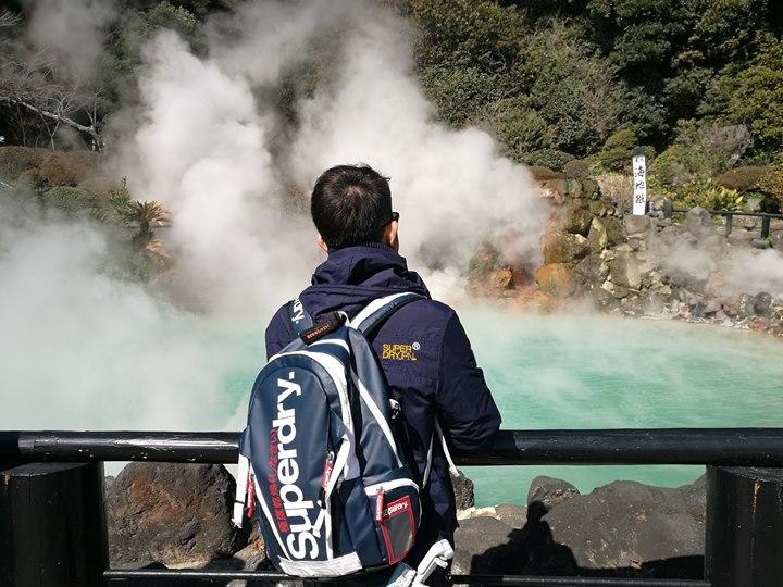 Beppu12-1 Beppu-別府地獄之旅 海地獄&血の池地獄 這明明就地熱谷...