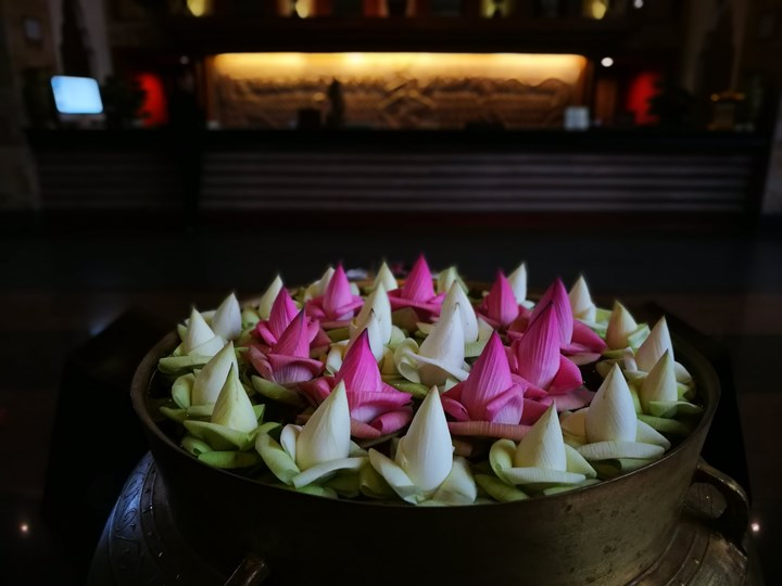 angkormiracle05 Siem Reap-暹粒Angkor Miracle Reflection Club中韓大媽過境無敵吵雜的早餐