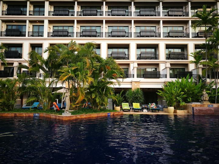 angkormiracle22 Siem Reap-暹粒Angkor Miracle Reflection Club中韓大媽過境無敵吵雜的早餐