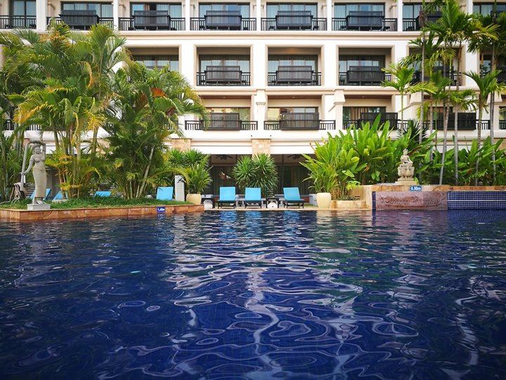 angkormiracle24 Siem Reap-暹粒Angkor Miracle Reflection Club中韓大媽過境無敵吵雜的早餐