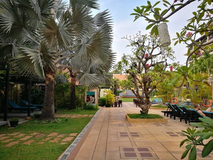 angkormiracle28 Siem Reap-暹粒Angkor Miracle Reflection Club中韓大媽過境無敵吵雜的早餐