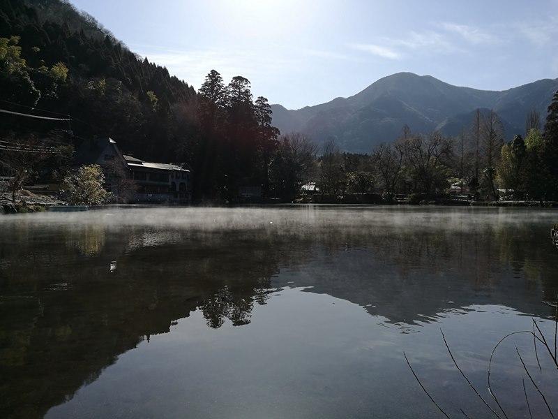 kinrinko06 Yufuin-金鱗湖 由布院第一美景 飄渺夢幻的小池塘