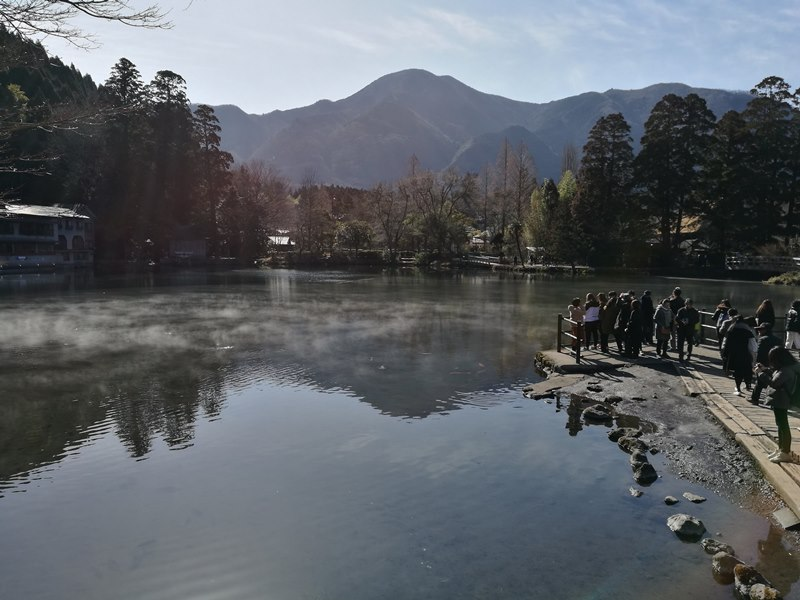 kinrinko07 Yufuin-金鱗湖 由布院第一美景 飄渺夢幻的小池塘
