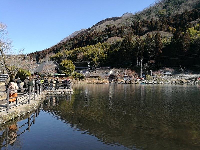 kinrinko10 Yufuin-金鱗湖 由布院第一美景 飄渺夢幻的小池塘