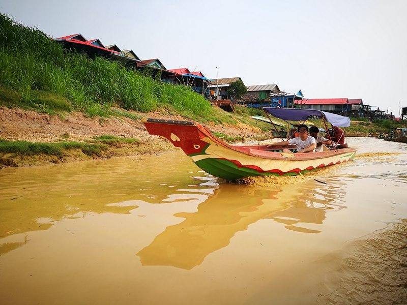 tonlesap09 Siem Reap-Tonle Sap洞里薩湖 柬埔寨的魚米鄉 落後環境中的知足生活