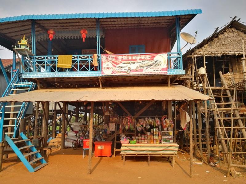 tonlesap19 Siem Reap-Tonle Sap洞里薩湖 柬埔寨的魚米鄉 落後環境中的知足生活
