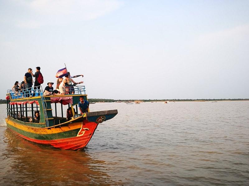 tonlesap36 Siem Reap-Tonle Sap洞里薩湖 柬埔寨的魚米鄉 落後環境中的知足生活
