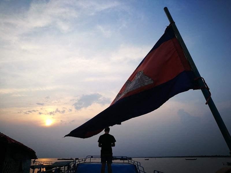 tonlesap38 Siem Reap-Tonle Sap洞里薩湖 柬埔寨的魚米鄉 落後環境中的知足生活
