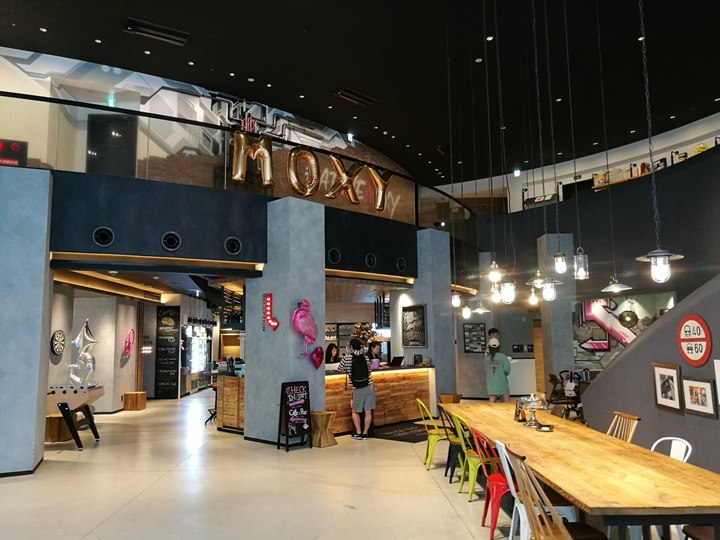 moxyhonmachi05 Honmachi-大阪Moxy Osaka Honmachi年輕熱情設計飯店IKEA風