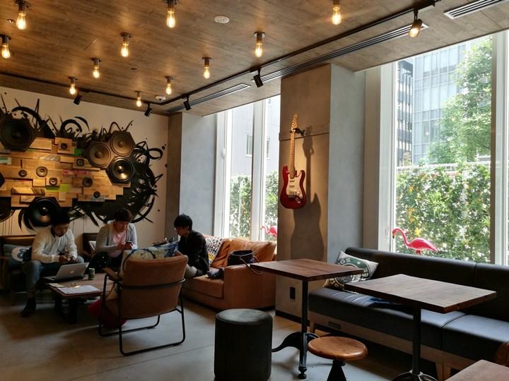 moxyhonmachi26 Honmachi-大阪Moxy Osaka Honmachi年輕熱情設計飯店IKEA風