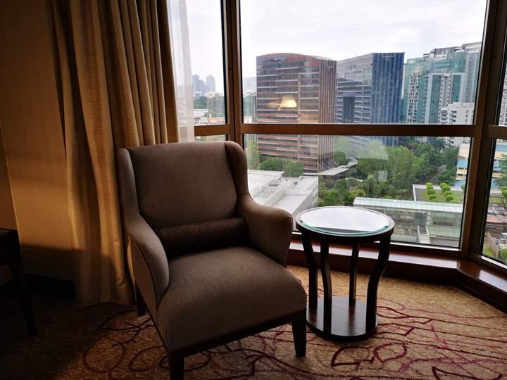 sheratontowersin11 Singapore-Sheraton Tower商務飯店交通方便