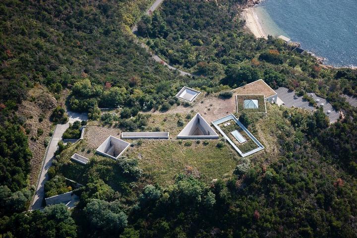 chichu03 Naoshima-地中美術館 藝術直島 安藤忠雄大作 建築美展覽有深度